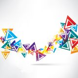Abstract background with geometric elements Royalty Free Stock Photography