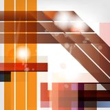 Abstract background with geometric elements Royalty Free Stock Images
