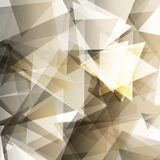 Abstract background with geometric elements Stock Photography
