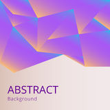Abstract background. Abstract geometric background with glowing polygons vector illustration