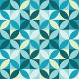 Abstract background. Abstract geometric background, made of circles and squares stock illustration