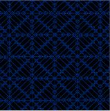 Abstract background with geometric pattern. Blue abstract geometric pattern on a gray background Royalty Free Stock Images