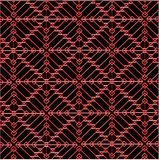 Abstract background with geometric pattern. Red abstract geometric pattern on a gray background Stock Images