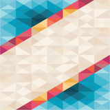 Abstract Background - Geometric Pattern. Geometric background - vector pattern for different design works Stock Photography