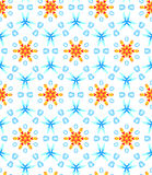 Abstract background with geometric pattern. Vector illustration Royalty Free Stock Image