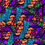 Abstract background of geometric patterns. Colorful fantasy stock photography