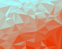 Abstract background of geometric patterns. Abstract background of geometric patterns,Triangle, warm color background Royalty Free Stock Photography