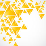 Abstract background with geometric piramid Royalty Free Stock Images