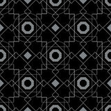 Abstract Background Geometric Seamless Pattern Royalty Free Stock Images