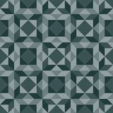 Abstract background - geometric seamless vector pattern. Stock Photo