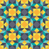 Abstract background - geometric seamless vector pattern. Design element Stock Images