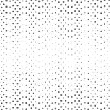Abstract background with geometric semitones. The texture of the shapes of various sizes. Optical illusions Stock Photos