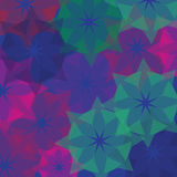 Abstract background of geometric shapes vector Royalty Free Stock Photography