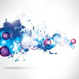 Abstract background with geometric shapes Stock Images