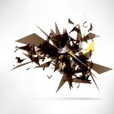 Abstract background with geometric shapes Royalty Free Stock Image