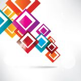 Abstract background with geometric shapes. This is file of EPS10 format Royalty Free Stock Photos