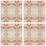 Abstract background of geometric shapes. Floor covering. Stock Image