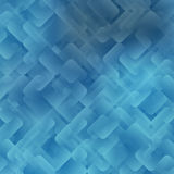 Abstract background of geometric shapes. Squares and rectangles with rounded corners Stock Photography