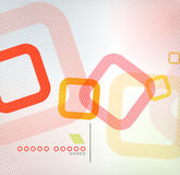Abstract background geometric square shape Royalty Free Stock Photo