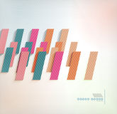 Abstract background geometric square shape. This is file of EPS10 format Stock Photos