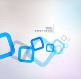 Abstract background geometric square shape. This is file of EPS10 format Stock Photography