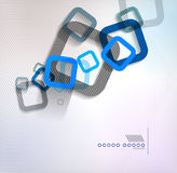 Abstract background geometric square shape. This is file of EPS10 format Royalty Free Stock Photos