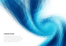 Abstract background with geometric texture. Distortion of space. Backgrounds for presentations and printing. Abstract background with geometric texture Royalty Free Illustration