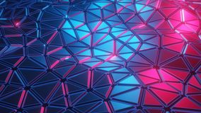 Abstract background of geometric triangular shapes. Unusual seamless background for posters, vj, covers, banners