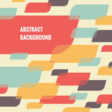 Abstract background - geometric vector pattern Royalty Free Stock Images