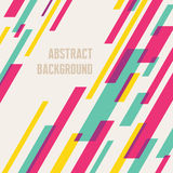 Abstract background - geometric vector pattern Royalty Free Stock Image