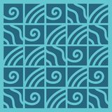 Abstract background geometric vector pattern. Squares with lines. Symbol of wave, water and sport Stock Photos