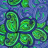 Abstract background of geometrical patterns drawing Stock Image