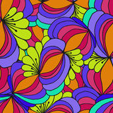 Abstract background of geometrical patterns drawing Royalty Free Stock Photography