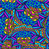 Abstract background of geometrical patterns drawing Stock Photo