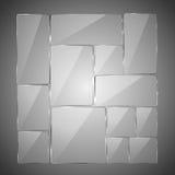 abstract background glass Στοκ εικόνες με δικαίωμα ελεύθερης χρήσης