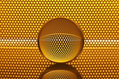 Abstract background with glass ball Stock Photos