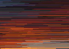 Abstract background with glitched horizontal stripes, stream lines. Concept of aesthetics of signal error. Stock Image