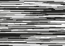 Abstract background with glitched horizontal stripes, stream lines. Concept of aesthetics of signal error. Stock Photo