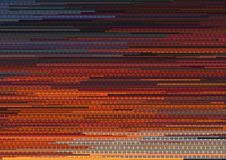 Abstract background with glitched vertical stripes, stream line binary code background with two binary digits 0 and 1. Stock Photography