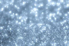 Abstract background from glitter dust Royalty Free Stock Photos