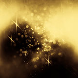 Abstract background. Glittering lights seen through an abstract drawing on foggy window. Colorful texture for Christmas, New Year and other holidays. Blurry Royalty Free Stock Photo