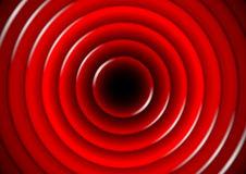 Abstract background with glossy red circles Royalty Free Stock Photo