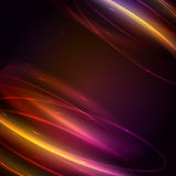 Abstract background with glow effect, vector Royalty Free Stock Image
