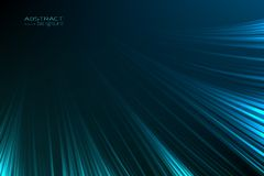 Abstract background glow neon blue light lines. Energy flash luminous glow ray trace glitter. Digital technology. Abstract background glow neon blue light lines royalty free illustration