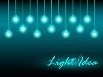 Abstract background with glowing lights. Vector illustration royalty free illustration
