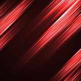 Abstract background with glowing lines. Neon stripes Stock Images