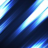 Abstract background with glowing lines. Neon stripes Royalty Free Stock Photo