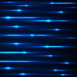 Abstract background with glowing lines. Neon stripes Stock Image