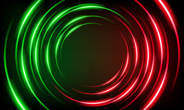 Abstract background with glowing stripes Royalty Free Stock Photography