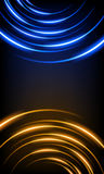 Abstract background with glowing stripes Royalty Free Stock Photo